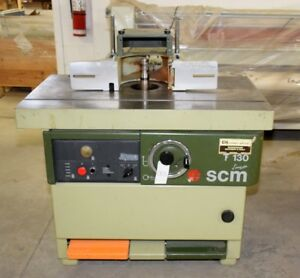 SCM SAWS & SHAPERS * 100 LOTS OF WOODWORKING MACHINES * AUCTION