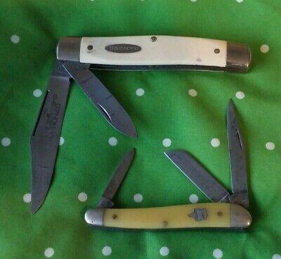 Vintage Keen Kutter & Ranger pocket knives x 2 vg condition