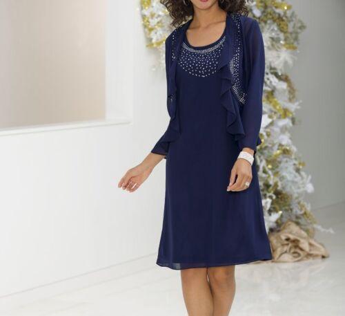 plus size 2X Flutter Jacket Dress by Monroe & Main new