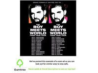 DRAKE TICKET BOY MEETS WORLD TOUR JAN 20th Friday. --- Read description before replying!