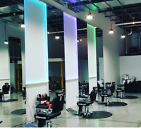 Free haircuts for men in a luxury barbershop