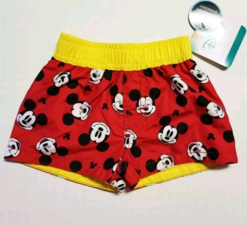 Disney Mickey Mouse Infant Baby Boy Swim Trunks Shorts Size