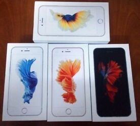 APPLE IPHONE 6S 128GB UNLOCKED IMMACULATE CONDITION COMES WITH SHOP WARRANTY AND RECEIPT`