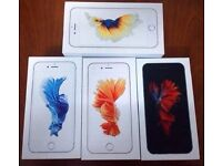 APPLE IPHONE 6S 64GB UNLOCKED BRAND NEW BOXED COMES WITH 12 MONTHS APPLE WARRANTY & SHOP RECEIPT