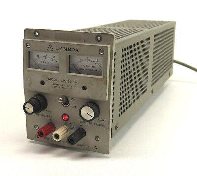 Lambda Electronics Corp Model Lp-522-fm 40v 1.8a 14 Rack Used Output 0-40v 1.8a
