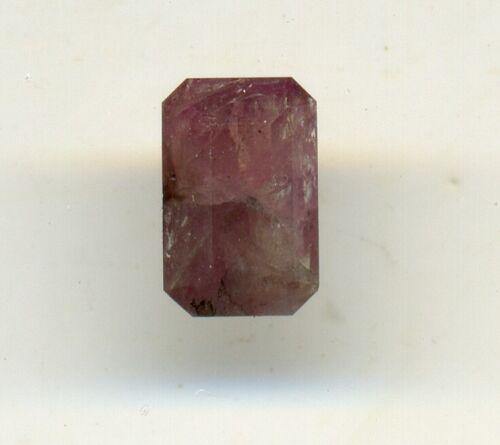 Russian natural  alexandrite 1.24ct crimson