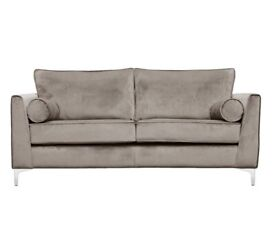 Giancarlo 3 Seater Sofa (Taupe) brand new in packaging