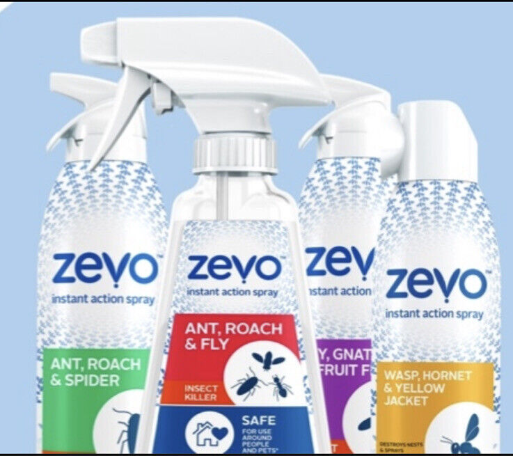 Zevo Bundle Insect Killer Safe For Pets And People.  FREE SHIPPING!!!