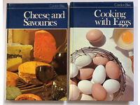 Classic Cordon Bleu cookery books: Cheese and Savouries, and Cooking with Eggs