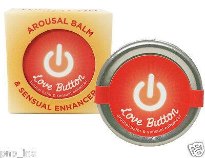 Love Button Clitoral Arousal Balm Edible Tingling Oral Sex Mood Enhancer Cream