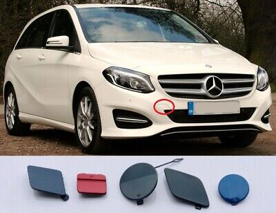 NEW GENUINE MERCEDES BENZ MB B CLASS W246 FRONT BUMPER TOWING EYE COVER PRIMED