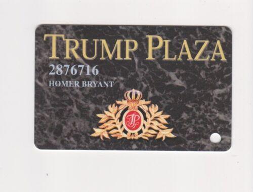 Players Slot Club Rewards Card Trump Plaza Hotel and Casino in Atlantic City NJ