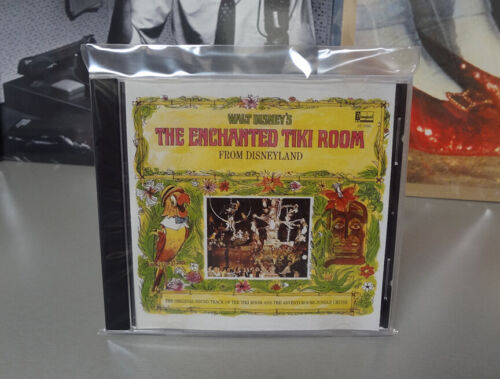 CD Rare DISNEYLAND Enchanted Tiki Room JUNGLE CRUISE Disney World not LP or DVD!