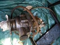 Old Briggs water pump