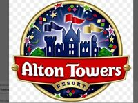 Alton Towers tickets -various dates £12 PP Adult or Child