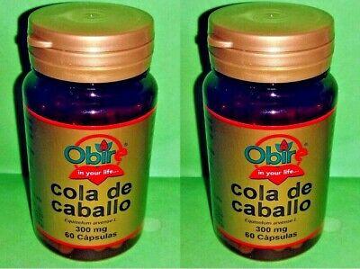 Cola de caballo 300 mg. 2x60 capsulas OBIRE