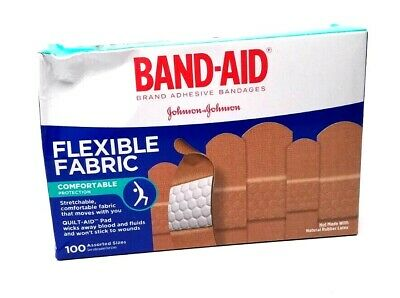 Band-Aid Brand Flexible Fabric Adhesive Bandages , used for sale  Shipping to India
