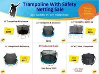 SAFE TRAMPOLINES !!! DIFFERENT SIZES, GREAT DEALS** SUMMER SALE