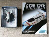 Phase II Bonus Edition USS Enterprise Shuttlecraft Eaglemoss Star Trek