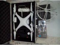 DJI Phantom 2 Kit + Zenmuse H3-3D + Gopro 3 + Monitor 7 + Aluminum Case