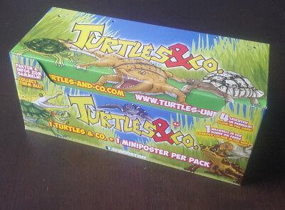 DeAgostini Turtles & Co 1 Display mit 20 Tüten Boostern Turtles & Co Neu OVP
