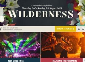 Wilderness Festival 2-5 Aug - Lux Bell Tent in Boutique Camping