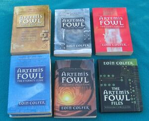Artemis Fowl by Eoin Colfer Books