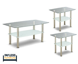 NEW ★ 3 piece coffee table sets ★ Can Deliver Kitchener / Waterloo Kitchener Area image 6