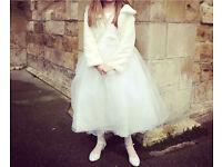 Girls bridesmaid communion dress