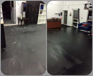 We provide professional cleaning to all fitness facilities!