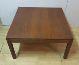 1960s Mid Century Square Teak Coffee Table – Great Condition
