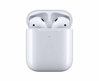 Refurbished Apple AirPods 2nd generation with Wireless Charging Case White 2019