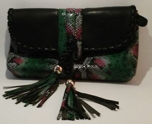 Snake Skin Leather Purse