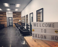 NEW SALON LOOKING FOR HAIRDRESSER OR BARBER .