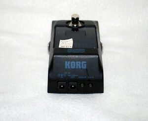 Korg Pitchblack True Bypass Chromatic Tuner Pedal with 4 Display