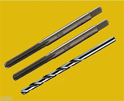 6 48 Tpi High Carbon Steel   3 Piece Tap Set     Hard To Find