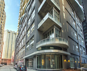 Le Peterson furnished loft for rent, downtown Montreal, 7th flr