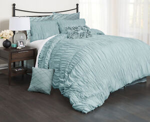McLeland Design Falling Waters Comforter Set King, New