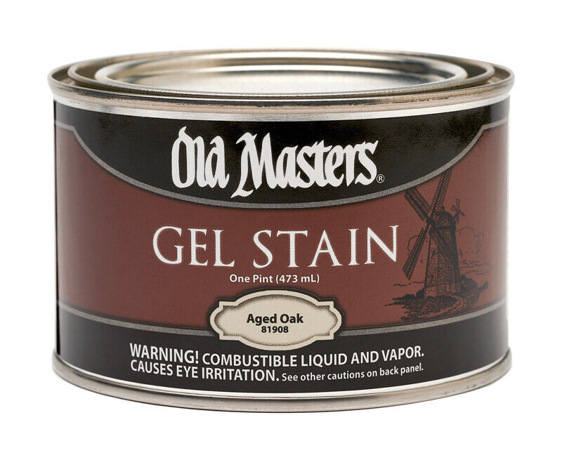 Old Masters Gel Stain Semi-Transparent All Colors Available Pint Size (16oz) Building & Hardware