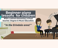 Piano lessons for kids in the Erindale area