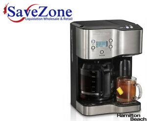 Hamilton Beach 12-Cup Coffeemaker With Hot Water Dispenser