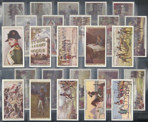Cigarette Collector Cards Napoleon War & Polar Explorers # 1 & 2