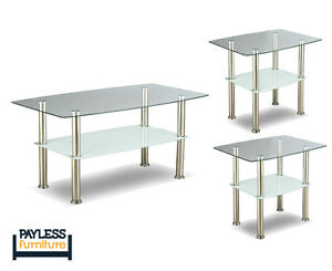 NEW ★ 3 piece coffee table sets ★ Can Deliver Cambridge Kitchener Area image 6