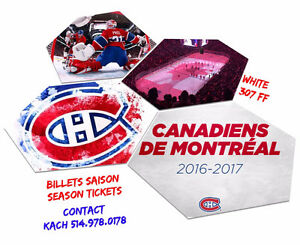 Montreal Candiens vs Toronto Maple Leafs - Whites sec 307 FF