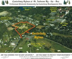 ST ANDREWS 0.5 ACRE LOT 1 AT THE ENTRANCE OF A QUIET CUL-DE-SAC.