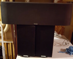 Paradigm Center Speaker, Merak surround speakers