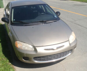 Chrysler Sebring seulement 84275km