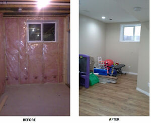 NEW Installations and RENOVATIONS