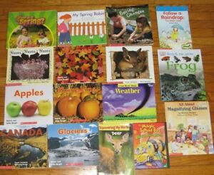 Primary/Junior Science Books Theme