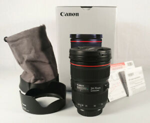 Mint Condition Canon EF 24-70mm f/2.8L II USM Lens